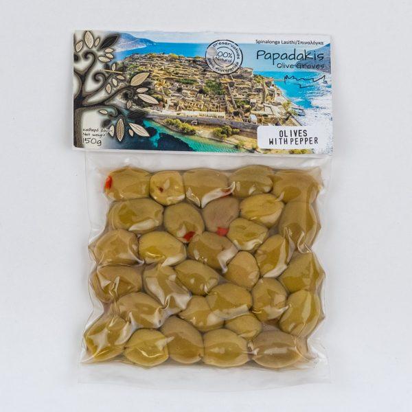 Täidetud oliivid punase paprikaga 150gr